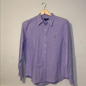 Ralph Lauren Slim Fit Button Front Shirt